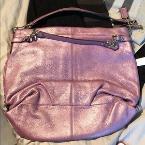Coach purple bag